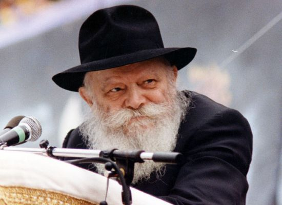 The Rebbe King Moshaich